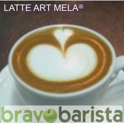 LATTE ART: LA MELA